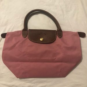 Longchamp Le Pliage Small Handbag PINK